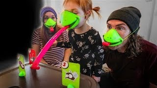 TURNED INTO FROGS by The Game Master!! (top secret package at our door)