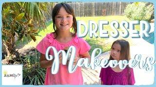 DIY Chalk Paint Dresser Makeovers Before We Move To Samoa | JAMily TV VLOG | Episode 7