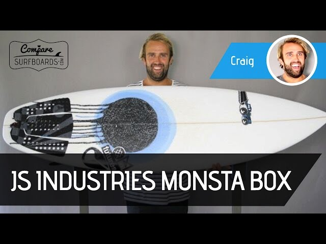 JS Industries Monsta Box Surfboard Review (NEW) - Futures F8 Fins - Compare Surfboards