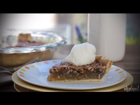 How to Make Pecan Pie | Thanksgiving Recipes | Allrecipes.com