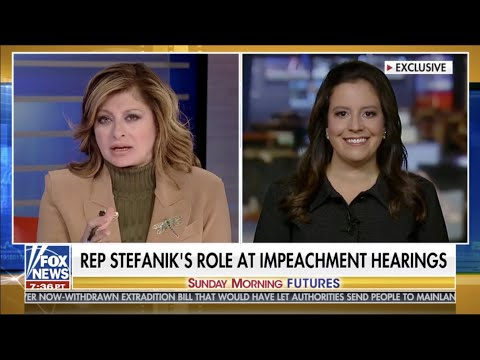 Congresswoman Stefanik on Sunday Futures with Maria Bartiromo