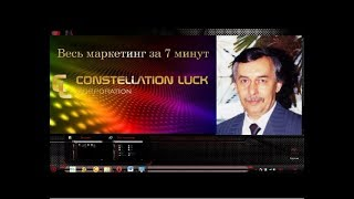 МАРКЕТИНГ КОРПОРАЦИИ «CONSTELLATION LUCK»