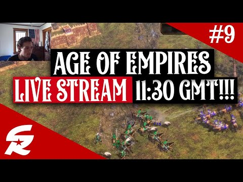 Age of Empires 3 LIVE STREAM | 5/16 @ 11:30 GMT