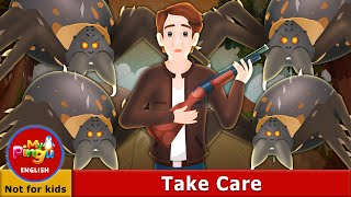 Take Care I Take Care in English | Horror Story I Scary Stories I My Pingu English