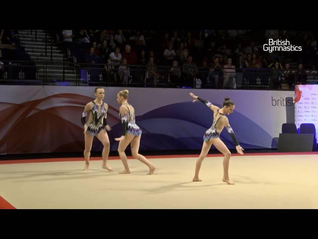 Championship Series in focus - acrobatic gymnastics