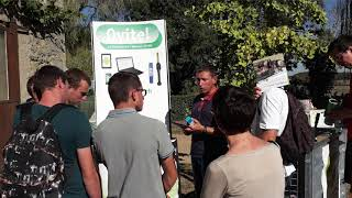 Demo at Samuels sheep farm in France (Video made at Workshop in Croatia)