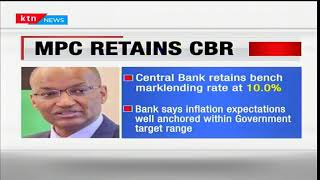 Central bank's monetary policy committee has retained the benchmark lending rate at 10.0%