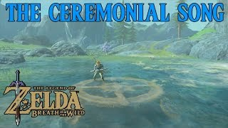 Zelda Breath Of The Wild Playthrough: The Ceremonial Song, Dagah Keek Shrine