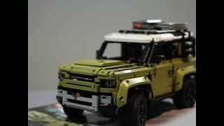 Nuevo Defender   LEGO Trailer