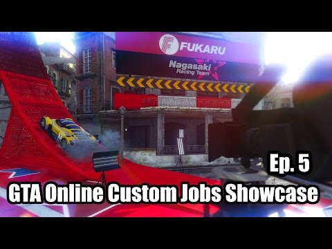 GTA VI Unfinished | GTA V Online Custom Jobs (GTA V Online Gameplay