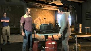 Grand Theft Auto 5 Walkthrough Part 97 - WE'RE GOING DOWN! | GTA 5 Walkthrough
