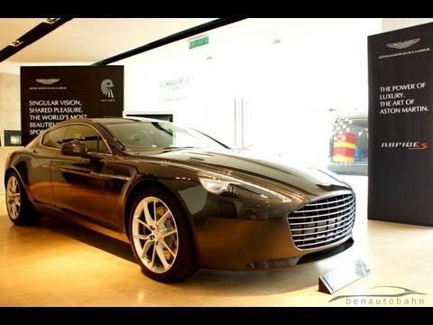 Aston Martin Rapide S media preview in Malaysia