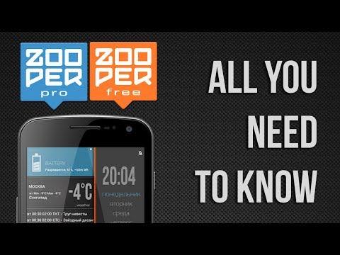 Video of Zooper Widget