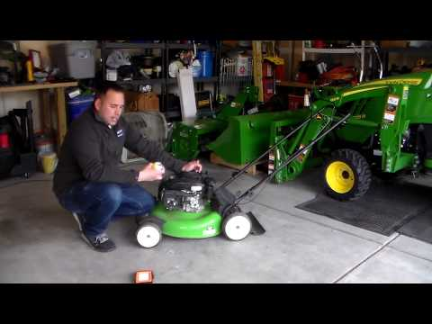 How to repair lawn mower in 5 minutes!  Quick Fix.  Lawn-Boy won't start.