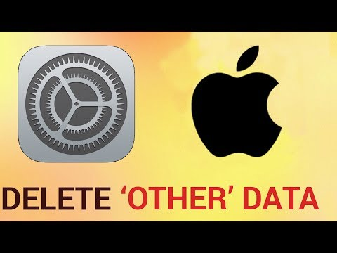 How to delete 'other' data on iPhone and iPad