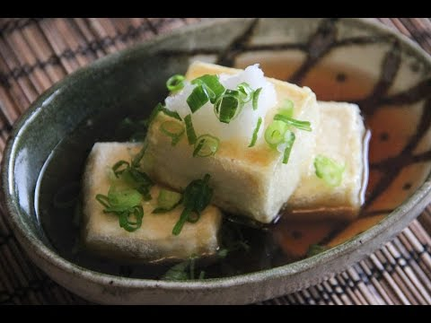 Agedashi Tofu Recipe – Japanese Cooking 101