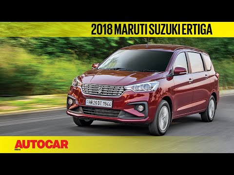 2018 Maruti Suzuki Ertiga | India Drive Review | Autocar India