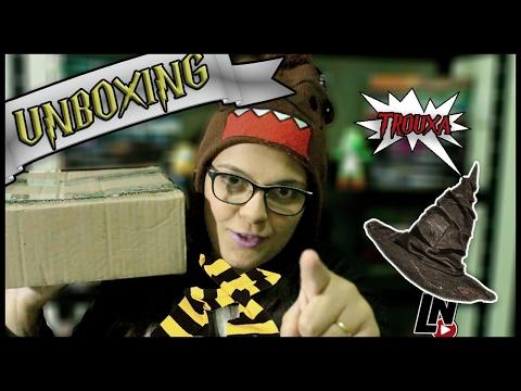 Unboxing de Aniversário para um Potterhead