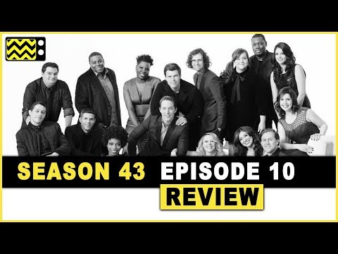 Saturday Night Live - Sam Rockwell; Halsey Review & Reaction | AfterBuzz TV