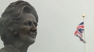 Unveiling of the bust of Baroness Thatcher
