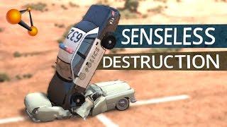BeamNG.Drive - Senseless Destruction Campaign Compilation