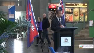 Nepal Flag Raising ceremony- 2014