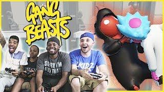 INSANE ELEVATOR BRAWL!! EVERYONE HOLD ON! - Gang Beasts Gameplay