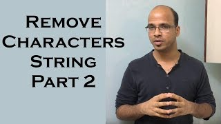 Remove Characters from Number String in Java    use of StringBuffer in Java Part 2