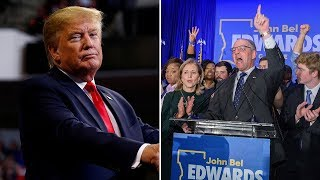 video: Democrats win Louisiana governor's race in fresh blow to Donald Trump