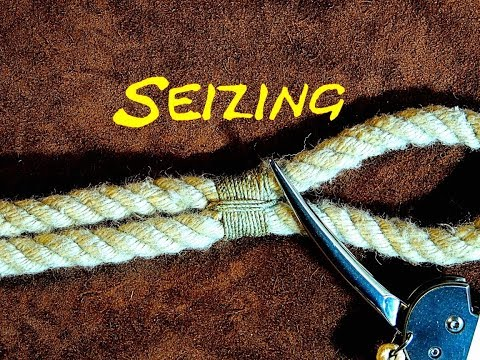 Seizing a Rope - Seizing an Eye in a Rope