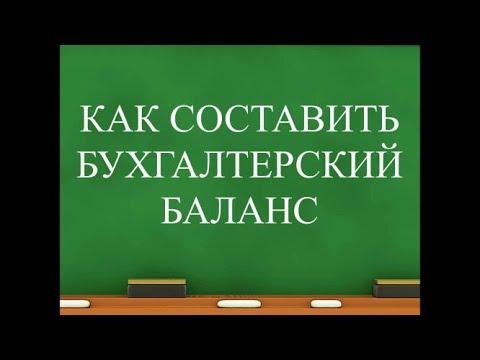 Бухгалтерский баланс для начинающих | Бухучет простым языком | Бухгалтерия для начинающих