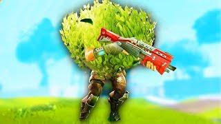 THE WEAPONIZED BUSH! -  Fortnite Battle Royale