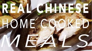 What real Chinese food looks like -  A week of home cooked meals in Hong Kong