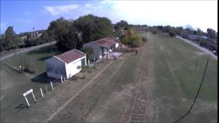 preview picture of video 'Villa Ruiz estacion tren DRONE Buenos Aires Argentina'