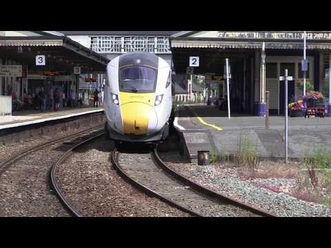 Hitachi IEP 800001 passes Newton Abbot working North Pole le…