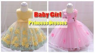 Newborn Baby Girl Princess Dress 2018 ! 1 Year Birthday Party Dress