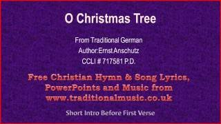 O Christmas Tree[O Tannenbaum](corrected) - Christmas Carols Lyrics & Music