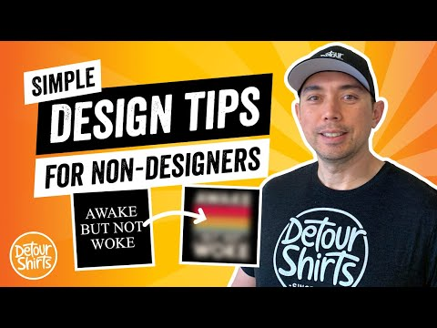 Easy T-Shirt Design Tips for Non-Designers - How to Go From Beginner to Pro Fast & Increase Sales