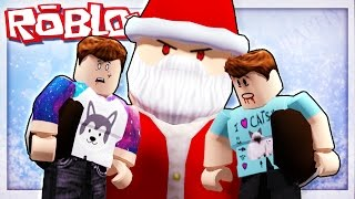 Roblox Adventures - ESCAPE KILLER SANTA CLAUS! (Escape Christmas Obby)