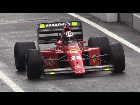 Ferrari Finali Mondiali 2018 Monza Day 1-640 F1,Wet Track Action,Big Slide & More