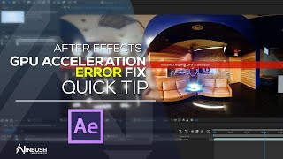 this effect requires gpu acceleration premiere pro 2019 fix