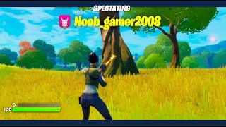 Spectating players FIRST GAMES in Fortnite!
