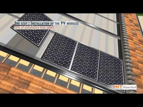 SANYO Solar HIT Power Roof