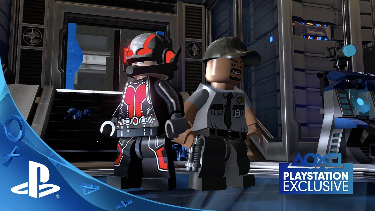 LEGO Marvel's Avengers Free Ant-Man DLC Out Today