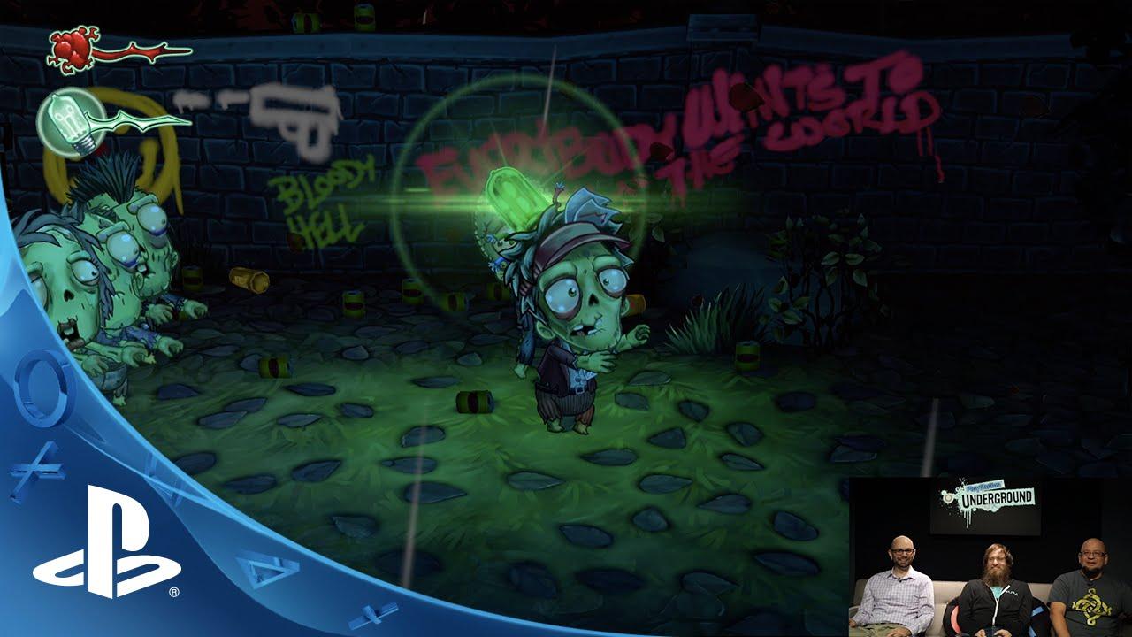 PlayStation Underground: 4 Creepy Games for Halloween