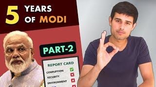 Modi Report Card Part-2   Analysis on Corruption, Security by Dhruv Rathee ft Soch