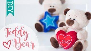 Шъём на 16 февраля День Влюблённых.День Валентина - мишку с сердечком.