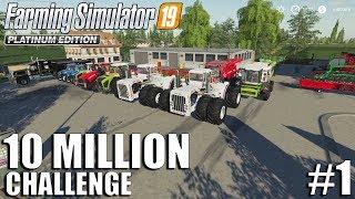 10 Million CHALLENGE | Nordfriesische Marsch | FS19 Timelapse #1 | Farming Simulator 19 Timelapse