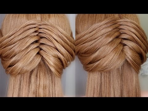 Easy Faux Twisting Braid Hair Tutorial