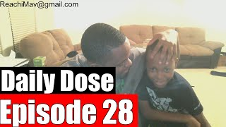 #DailyDose Ep.28 - (Feat. Lilttle Brother) - No Smoothie Challenge #G1GB
